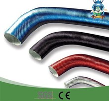 All sizes duct pipe on automobiles aluminum coated fiberglass sleeve