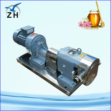 natural gas pressure booster rotor rotary lobe pump