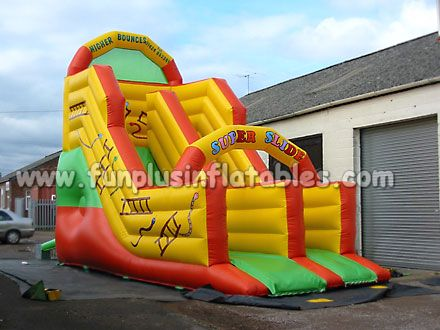 Large Amusement Park Inflatable Water Slide for Sale F4151