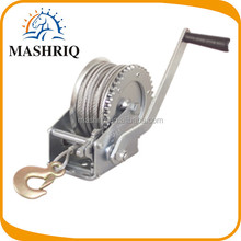 1200lbs steel cable manual hand winch