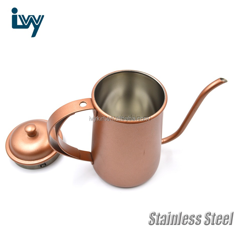 40 oz Make Perfect Hand Drip Brew Every Time Brushed Stainless Steel Tea kettle