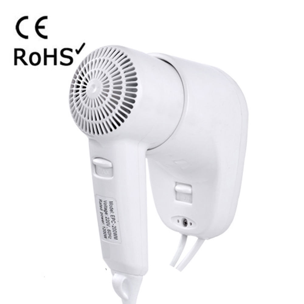 Hotel Wall Mounted Fast Dry Hotel Hair Dryer