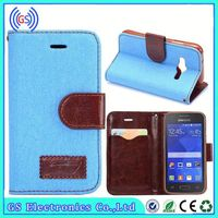 Leather Pouch Cover For Samsung Galaxy Tab Pro 8.4 Jeans Style Leather Case Stock