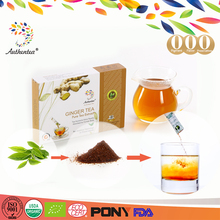 Certified Natural Herbal High Quality Instant Ginger Tea Powder