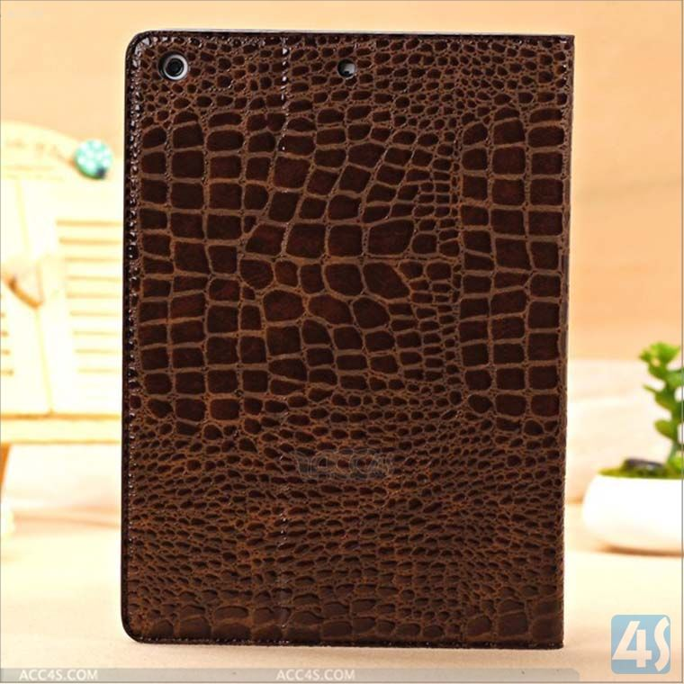 Tablet pc accessories,Crocodile leather case covers for ipad air