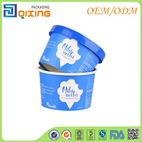 200ml lower price Ice cream paper cup with IML lid