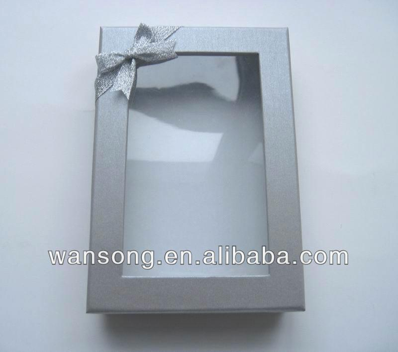 China wholesale pvc packing box , pvc gift box with custom design