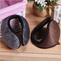 Fashion Knitted Warm Earmuffs with logo