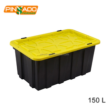 Factory Price New Design Household Heavy-Duty Plastic Storage Box With Wheels