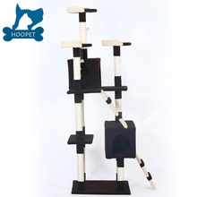 2017 New Arrival Luxury Designed Modern Cat Tree Cat House Cat Scratcher