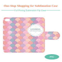 Sublimation Leather Phone Case for iPhone 5C with Full Size Printing