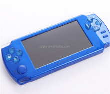 Rechargeable handheld game consoles with touch screen camera MP3 MP4