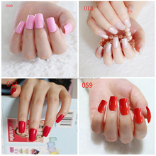 Manufacture wholesale new design Glamour nail tips nails art supplier finger nail TIPS