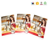 Paper Material And Business Gift Use Display Brochure