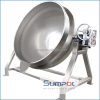 Steam jacket kettle for chicken meat