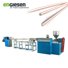 65mm screw drinking straw extruder machine of making straight plastic PP straw