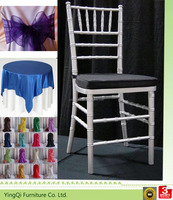Metal Stackable White Wedding Chiavari Chair