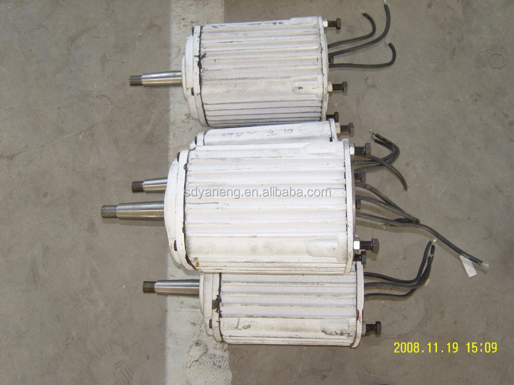 permanent magnet alternator 300w-30kw