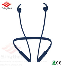 Srhythm brand Sports heaphone earphone Wireless Bluetooth Noise Cancelling earbuds for mobile cell phone with custom logo