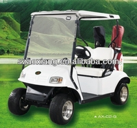 High quality 3KW 48V fourstar small golf cart and club car golf cart with bag holder