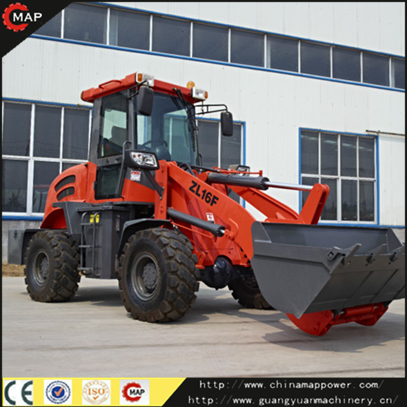mini 1.6Ton Wheel Loader ZL16 mini CE Loader
