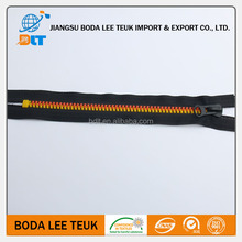 cheap wholesale superior quality large plastic zipper resin zipper