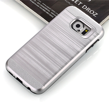 High quality Hair line PC and TPU 2 in 1 Shockproof phone case for ZTE Warp 7