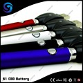380mAh S1 CBD battery pen style Wax/Thc vaperizor Slim E-cigarette Battery