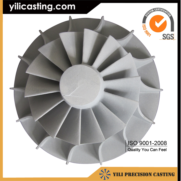 Aluminum impeller casting and machining producer