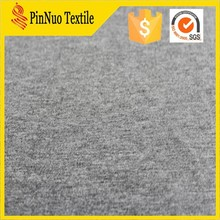 rayon spandex terry fabric dark grey color fabric for party cloth