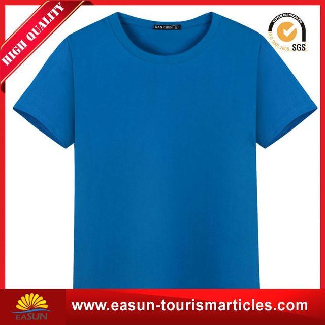 Cheap bamboo cotton t shirt led t-shirt with logo
