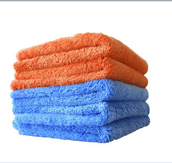 all purpose car detailing drying towel plush edge less mcirofiber car cleaning towel