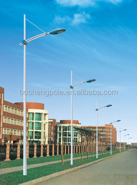 8M Electric Street Lighting Pole Post