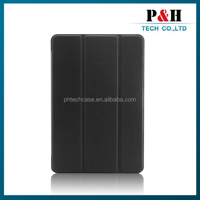 OEM manufacture flip smart pu leather cover case for ipad mini 3