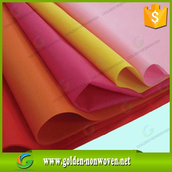 Printed pp spunbonded non woven cloth/Non-woven Fabric with any color/Spunbond Non Woven