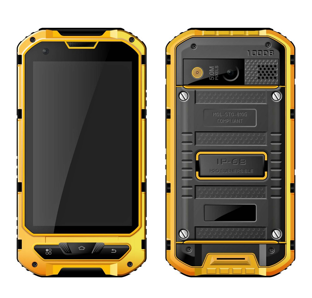 Hottest 4 inch IPS rugged waterproof mobile phone with 3G GPS NFC and Android 4.2
