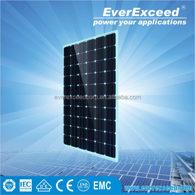 Monocrystalline Solar Panel 250W 30V for solar power system