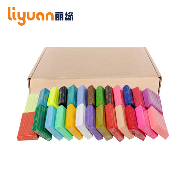 500g non-toxic 24 color diy oven bake clay