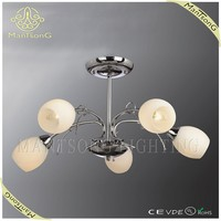Wholesale cheap chandelier modern home glass shade chandelier
