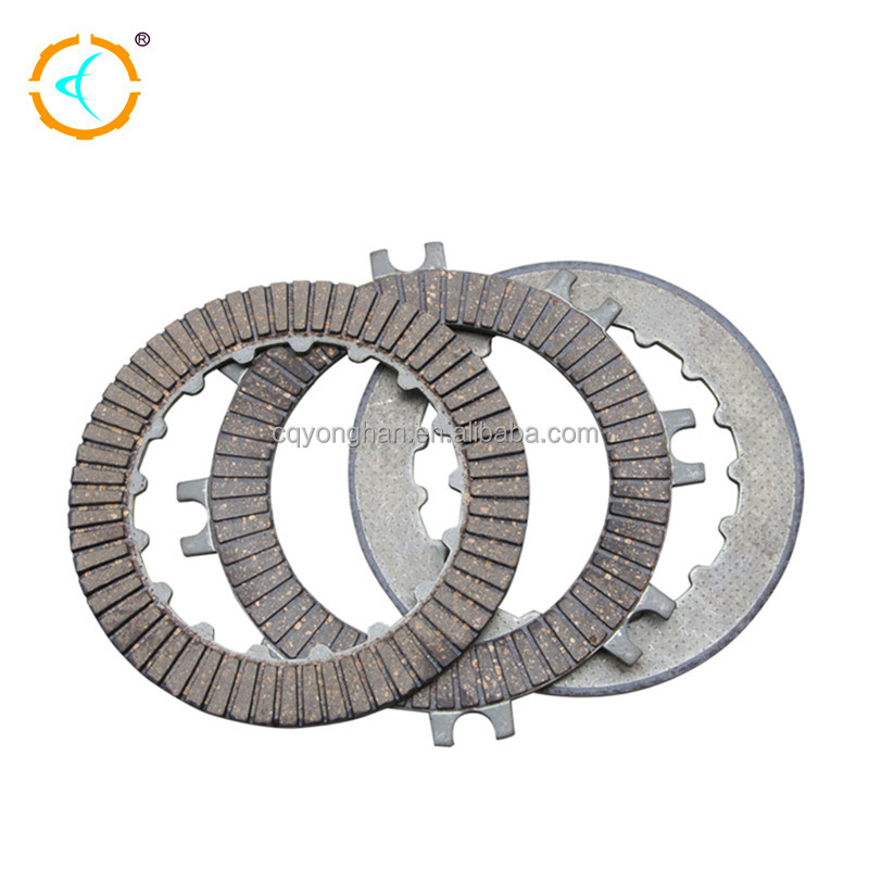 CD90 Robust Motorcycle Clutch Fiber OEM Quality, clutch disc and plate