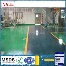 High hardness corrosion resistance heavy traffic epoxy floor hardener paint