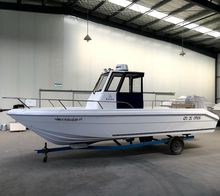 Waterwish Boat QD 25 OPEN Fiberglass Boat for Fishing