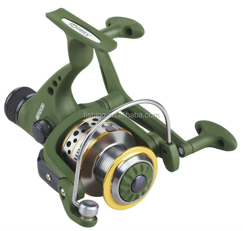 with Double Knob in handle spinning fishing reel Rear drag fishing tackle
