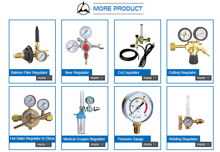 Pressure gauge for gas cylinders small pressure gauge