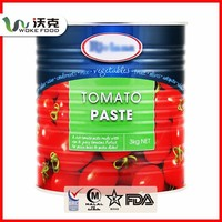 Exported tomato paste to (de rica), with FDA, BRC, IFS, ISO22000 certification