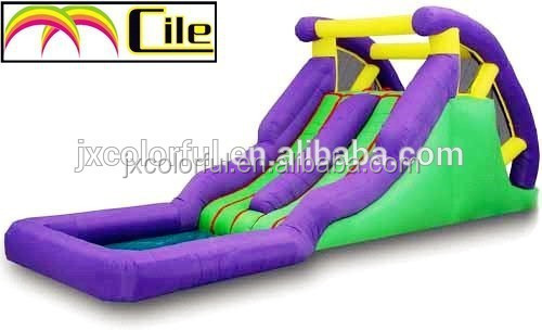CILE Pool Inflatable Swimming <strong>Slide</strong>