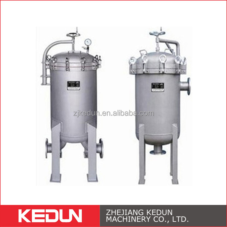 Fluid Equipment High Pressure Sanitary Beverage Multi Bag Water Filter