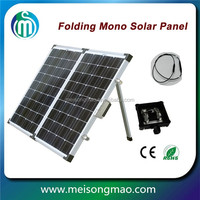 19.2% high efficiency energy power solar panel 100 watts Monocrystalline folding Solar Panel for sale