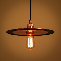 E27/E26 Pendant Light Modern Iron Fisherman Ceiling Lamp for Home/Bar/Restaurant Decoration