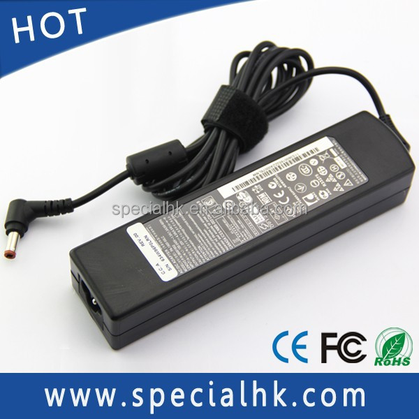 20V 4.5A 90W AC Adapter For IBM Lenovo R60 R60e 3000 V100